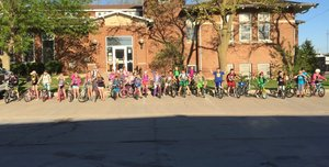 National Ride Your Bike to School Day