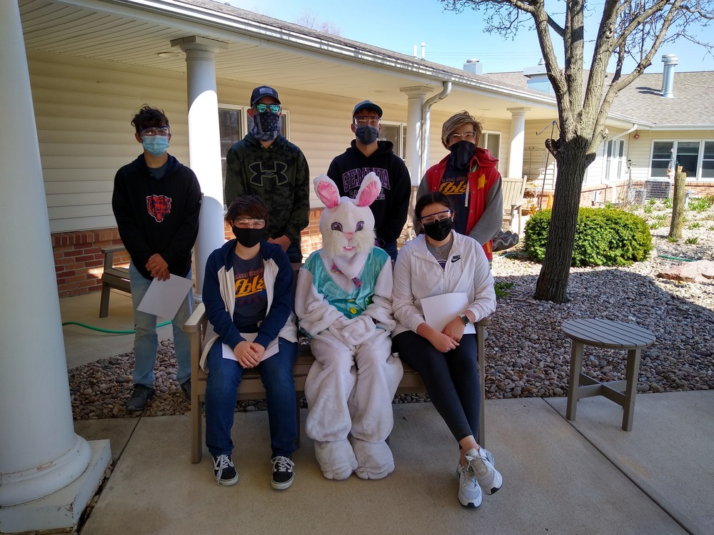 FC FBLA Assists with Easter Activities