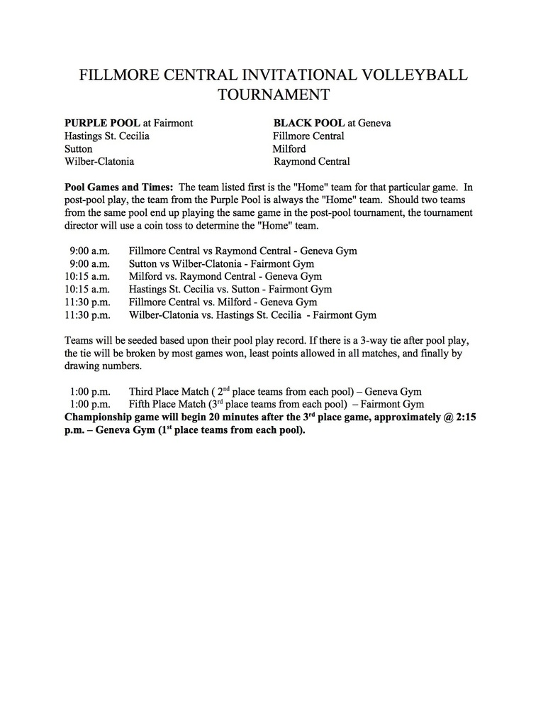 FC VB Tournament 2018