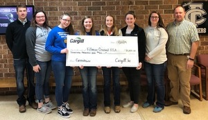 Fillmore Central Receives Donation for Greenhouse