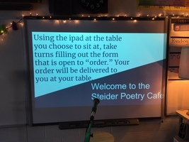5th and 6th grade Poetry Cafe