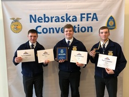 Fillmore Central District CDEs and State FFA Convention Results