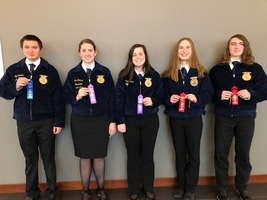 FC FFA Attended District Leadership Development Events