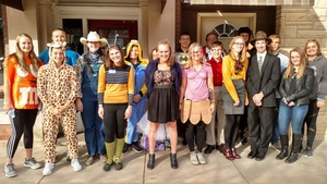 FC FBLA ASSISTS WITH SCARE ON THE SQUARE