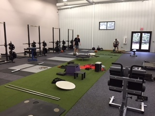 New weight/fitness room
