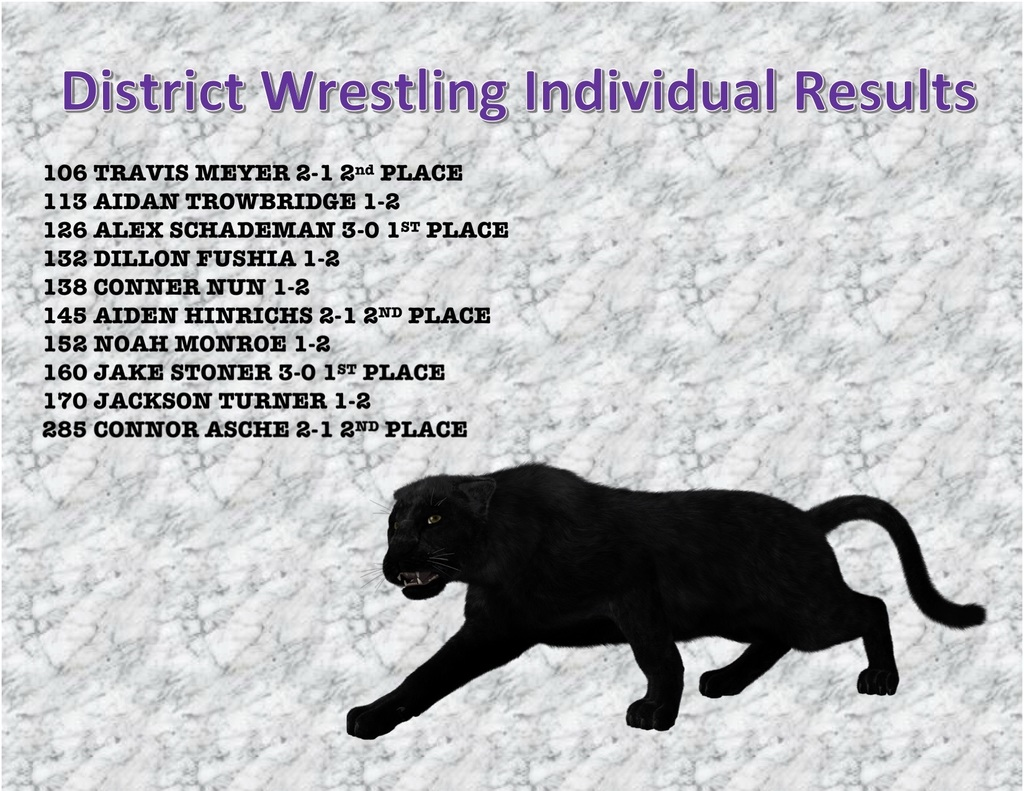 District Wrestling