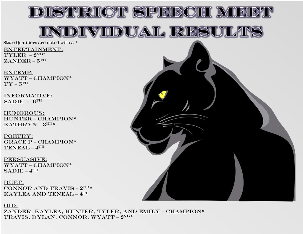 District Speech