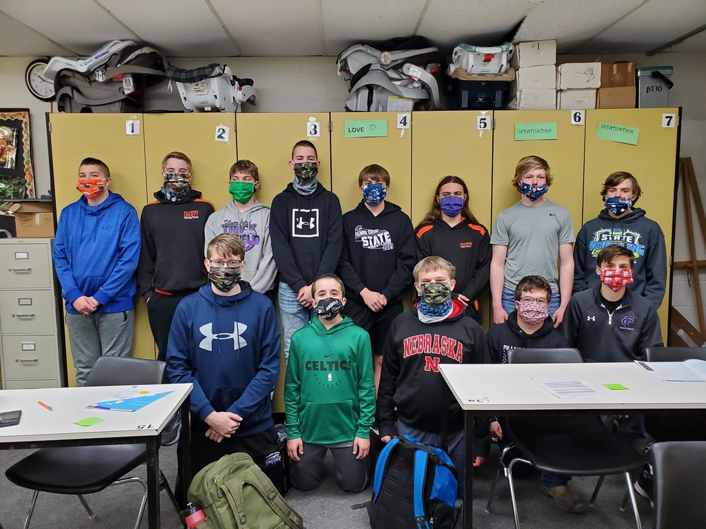 9th FCS Masks
