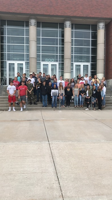 Seniors visit Hastings College