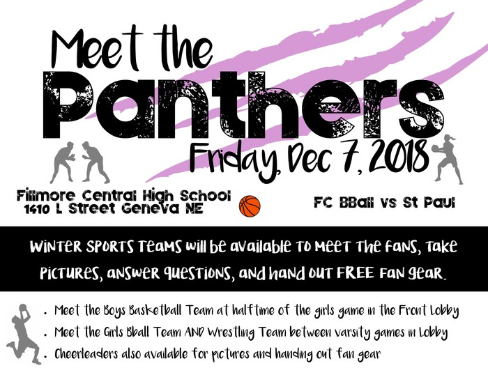 Meet the Panthers December 7th