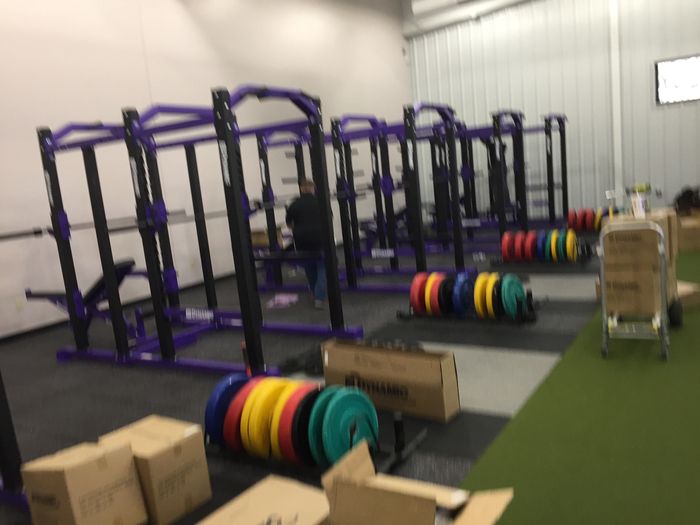 New weight equipment looking good!