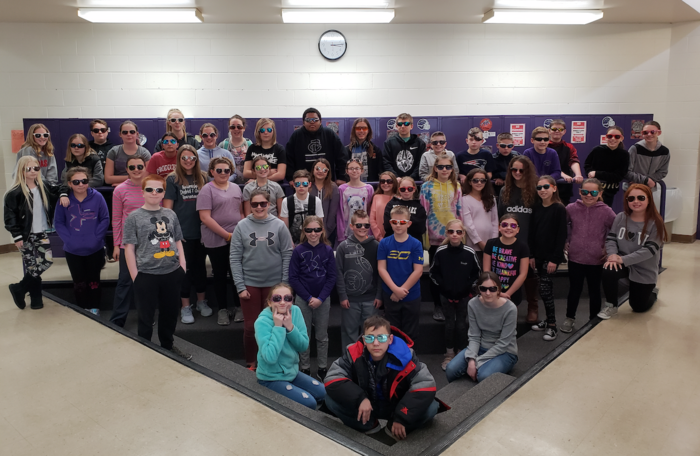 Wednesday was Brighten Someone's Day at FCMS.  Students were allowed to wear sunglasses to school.  Thanks for all who participated!!
