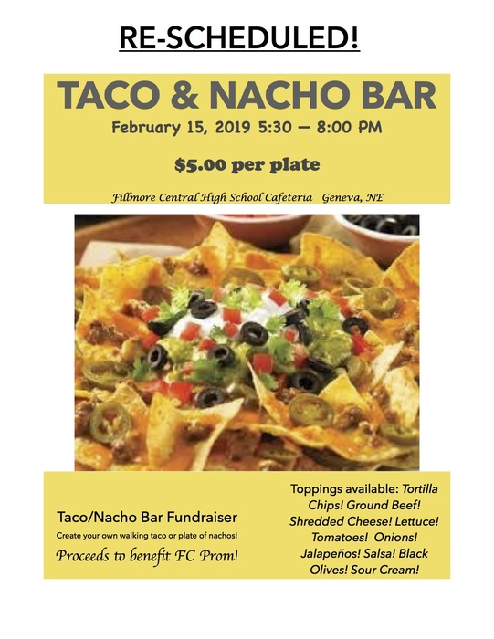 Taco & Nacho Bar