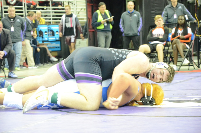 Moses in his championship match