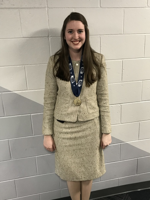 1st Place in Persuasive Speaking - T. Stoldorf