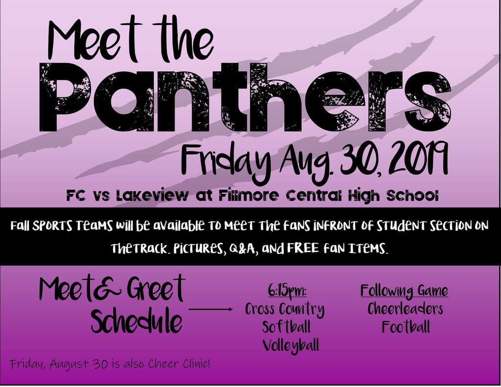 Fall Meet the Panthers