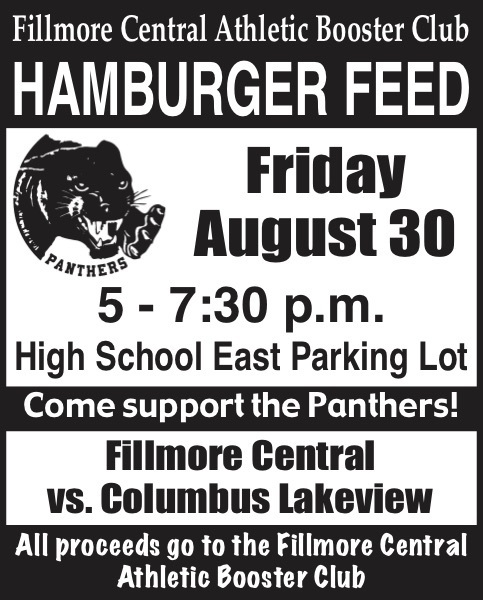 Athletic Booster Club Hamburger Feed