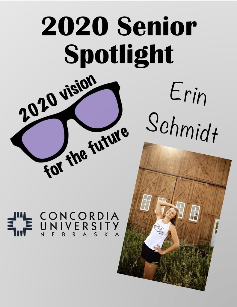 Senior Spotlight: Erin
